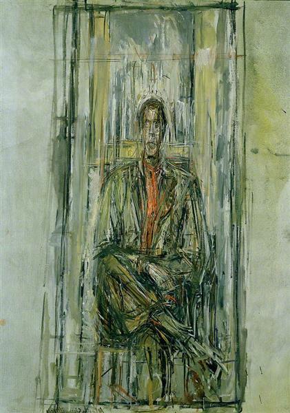 Diego Seated - Alberto Giacometti