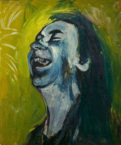 The Laughing Woman (study), 1946 - Graham Sutherland