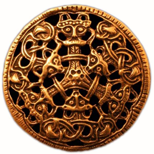 Brooch, c.900 - Viking art
