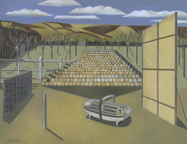 Landscape at Iden, 1929 - Paul Nash