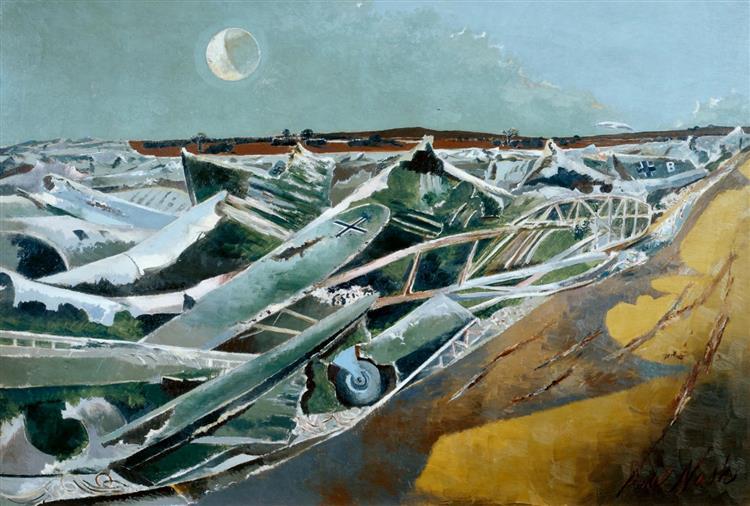 Totes Meer, 1940 - 1941 - Paul Nash
