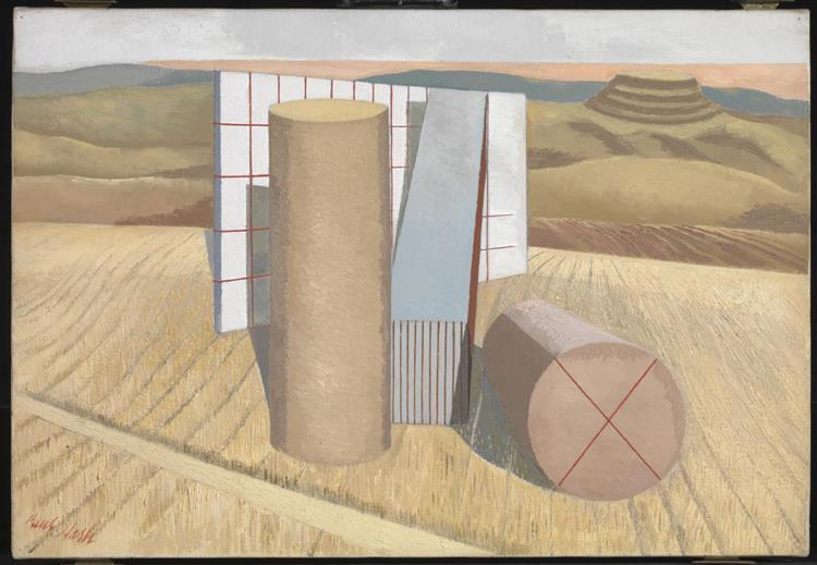 Equivalents for the Megaliths, 1935 - Paul Nash