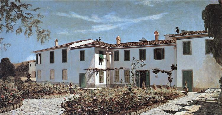 Villa Fiorentina, c.1872 - c.1874 - Телемако Сіньйоріні