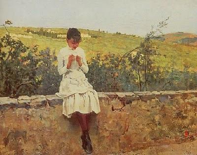 Hills in Settignano, 1885 - Телемако Сіньйоріні
