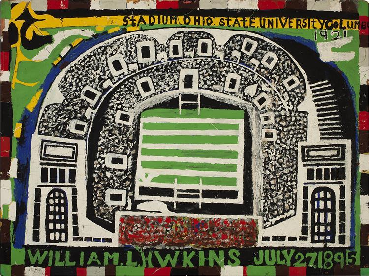 Ohio State University Stadium, 1983 - William Hawkins