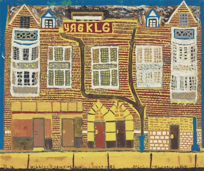 Yaekle Building Dated, 1982 - William Hawkins