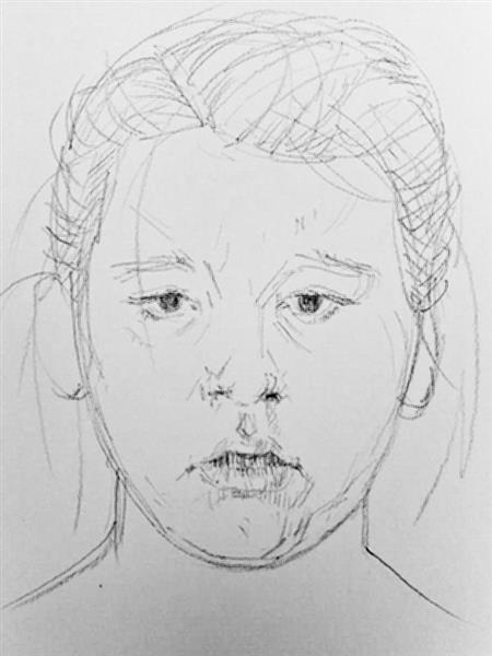 The 5 minute portrait sketch, 2013 - Alfred Freddy Krupa