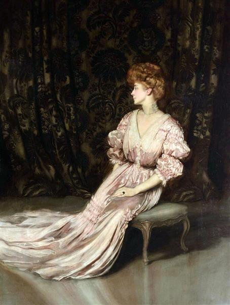 Maria Hardouin D'Annunzio, 1899 - Антонио де ла Гандара