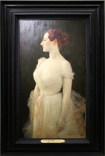 Madame Gautreau - Gustave-Claude-Etienne Courtois
