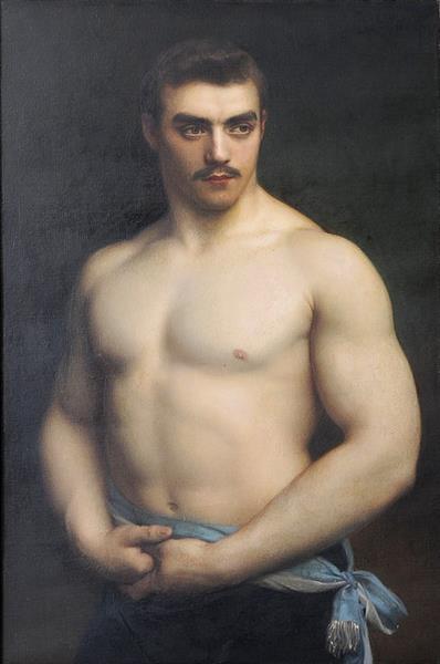Portrait of Maurice Dériaz, 1906 - Gustave-Claude-Etienne Courtois