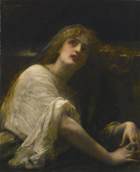 Mary Magdalene at the Tomb, 1875 - Alexandre Cabanel