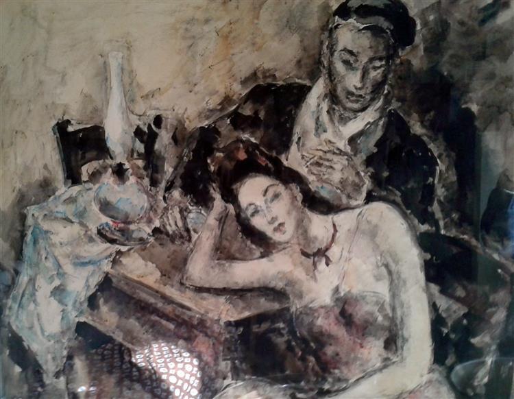 La melancolie, 1950 - Arturo Souto