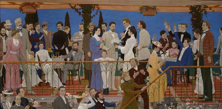 Art theatre spring - Dmitri Zhilinsky