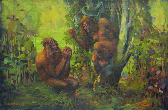 Adam and Eve - Georgi Mashev