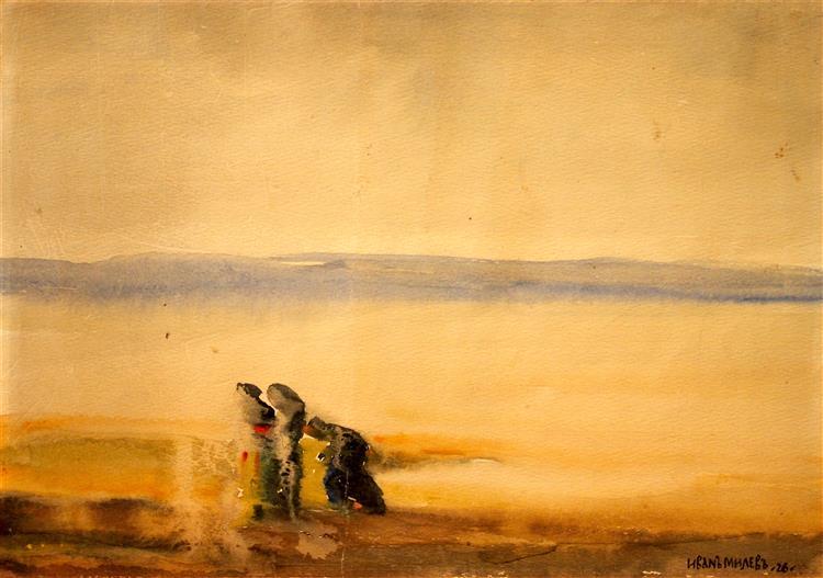 Refugees, 1926 - Ivan Milev