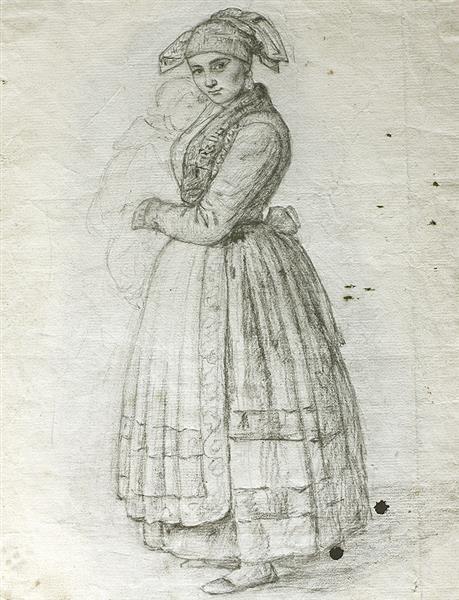 La Pasiega Esbozo - Rosario Weiss Zorrilla