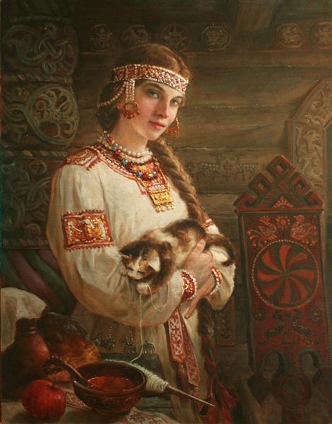 Хозяюшка, 2015 - Andrey Shishkin