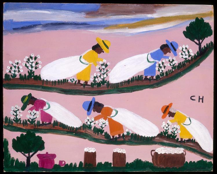 Cotton Pickin', 1948 - Clementine Hunter