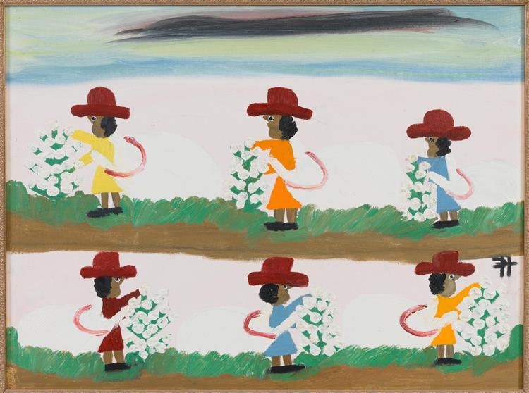 Picking Cotton - Clementine Hunter