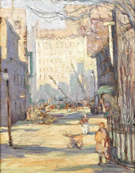 City Scene - Esther Newport