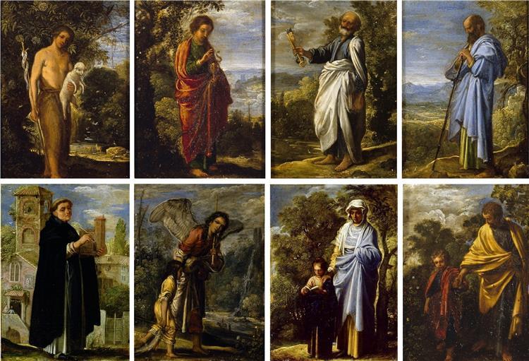 A Set of Small Religious Scenes, 1605 - Adam Elsheimer