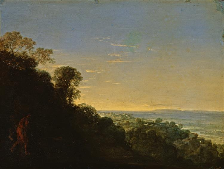 Morgenlandschaft (Aurora) - Adam Elsheimer