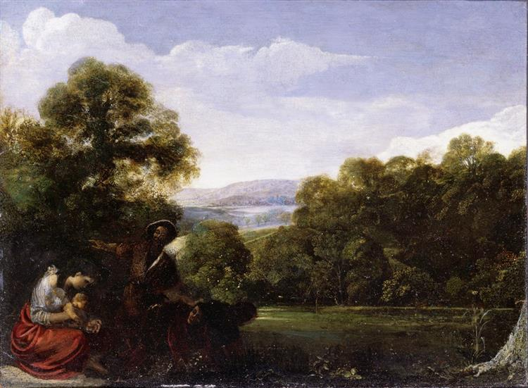 Latona and the Lycian Peasants, 1608 - Adam Elsheimer
