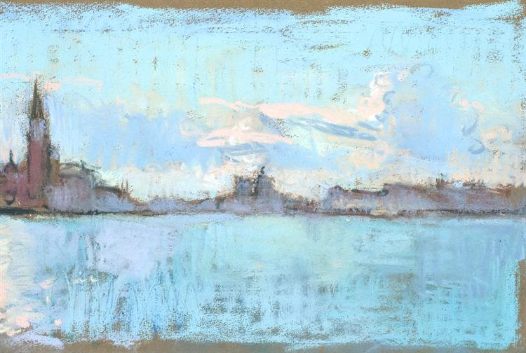 Looking Towards the Guidecca Canal, Mid Morning - Martin Yeoman