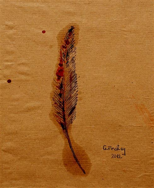 Feather 1, 2012 - Gazmend Freitag