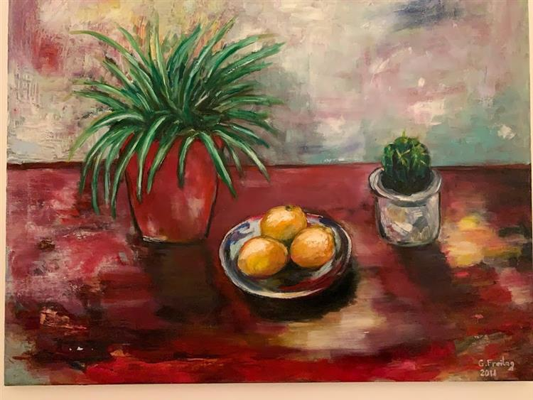 Stillife - Three oranges, 2011 - Gazmend Freitag