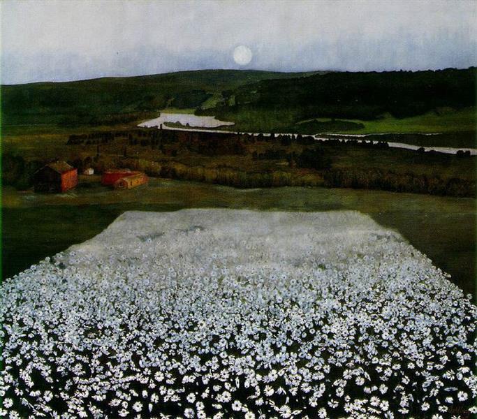 Prado Florido no Norte - Harald Sohlberg