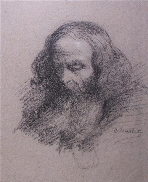 Portrait de mendiant - Charlet
