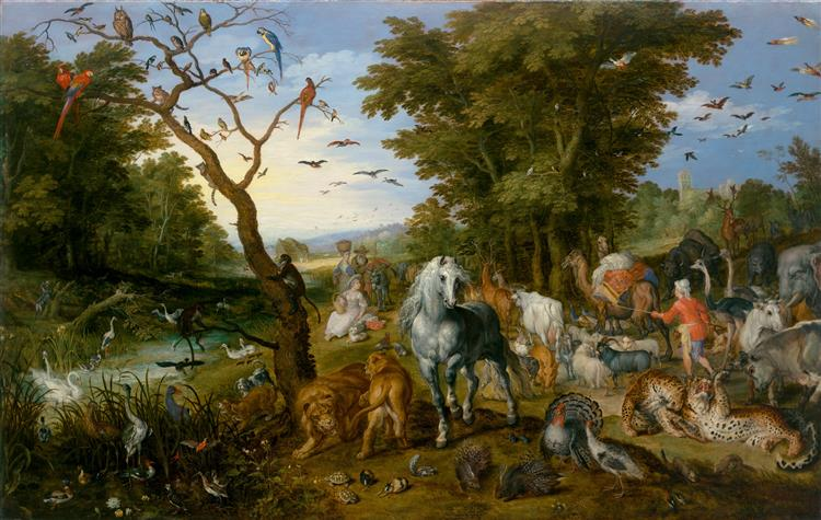 The Entry of the Animals into Noah's Ark - Jan Brueghel the Elder