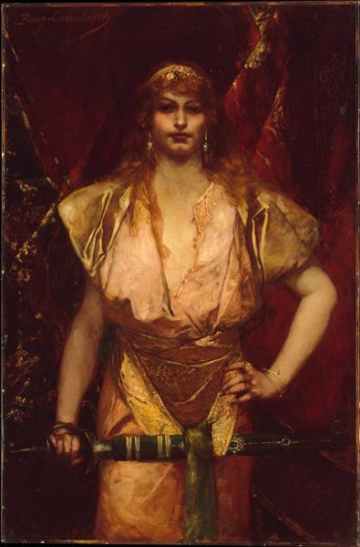 Judith, 1886 - Jean-Joseph Benjamin-Constant