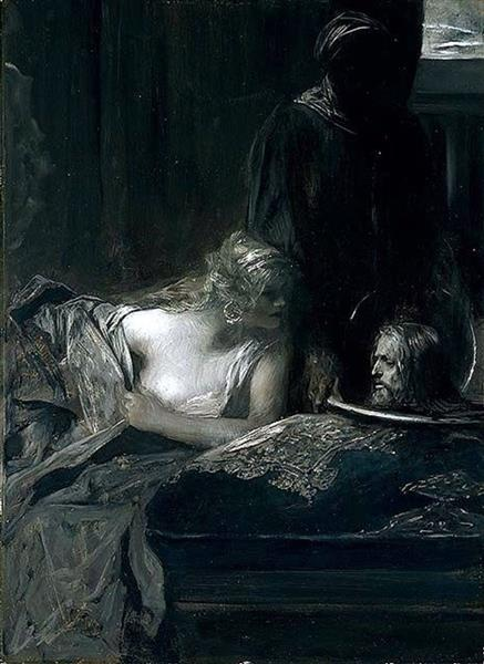 Salomé with the Head of John the Baptist, 1898 - Benjamin Constant