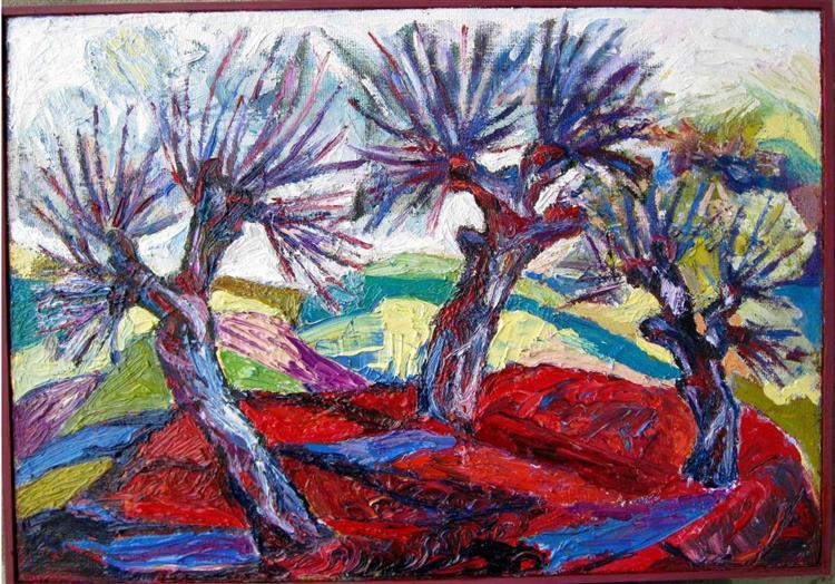 Landscape with willows, 2009 - Eleonora Brigalda Barbas