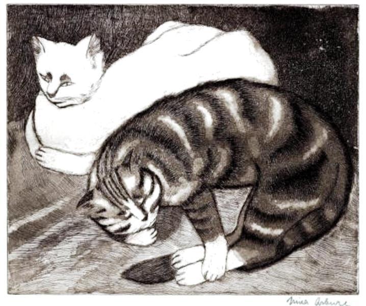 Pisici, 1935 - Nina Arbore