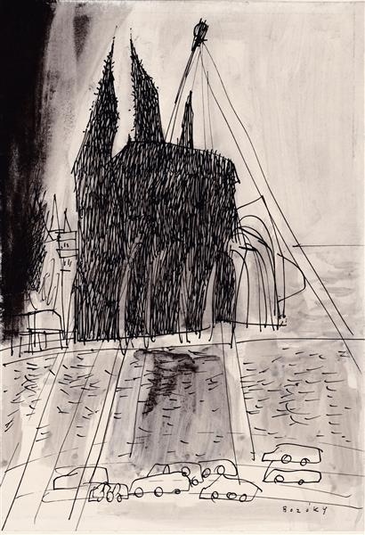 Kolner Serie  # 7, 1972 - Maria Bozoky