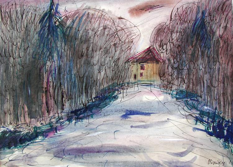 Towards Home, 1981 - Maria Bozoky