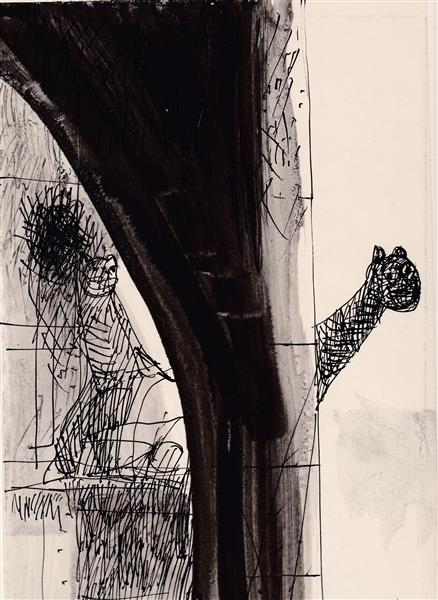 Kolner Serie #2, 1972 - Maria Bozoky