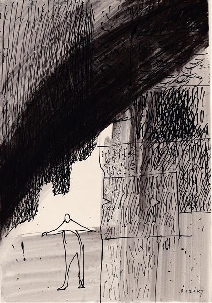 Kolner Serie # 5, 1972 - Maria Bozoky