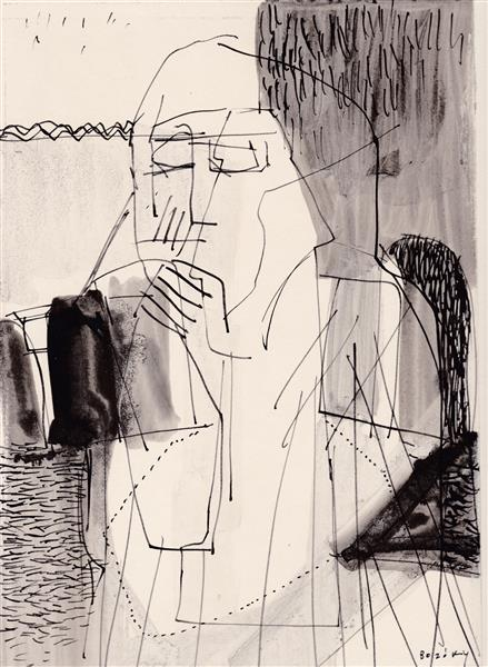 Kolner Serie  # 8, 1972 - Maria Bozoky