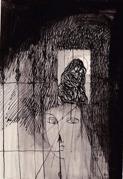 Kolner Serie  # 9, 1972 - Maria Bozoky