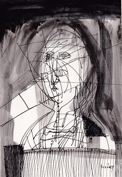 Kolner Serie  # 10 - Maria Bozoky