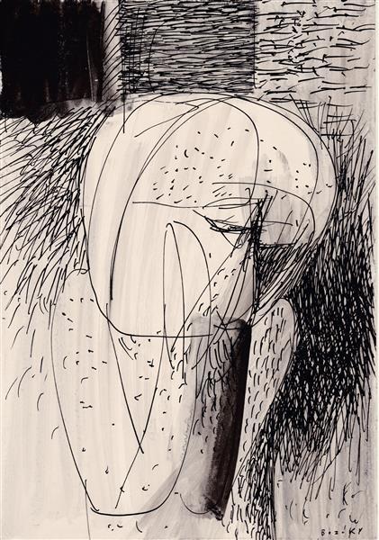 Kolner Serie  # 11, 1972 - Maria Bozoky
