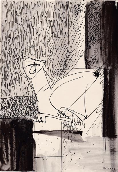 Kolner Serie  # 12, 1972 - Maria Bozoky