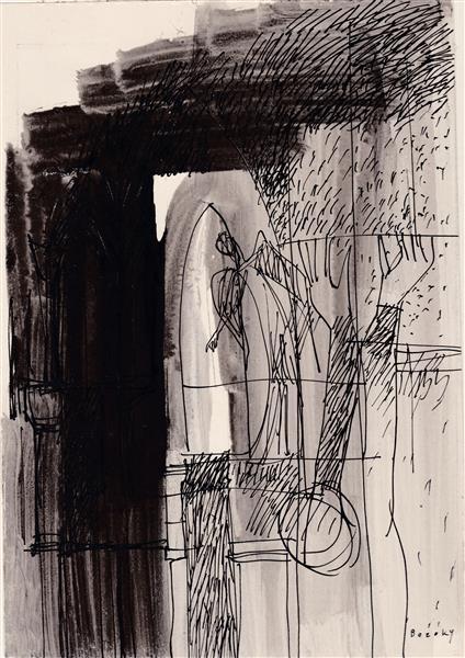 Kolner Serie  # 13, 1972 - Maria Bozoky