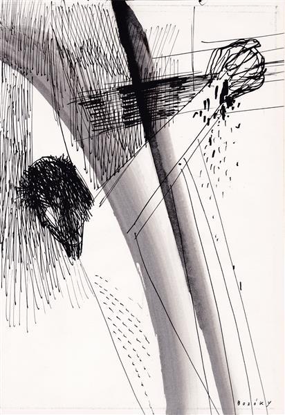 Kolner Serie  # 14, 1972 - Maria Bozoky