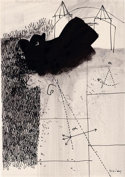 Kolner Serie  # 15, 1972 - Maria Bozoky