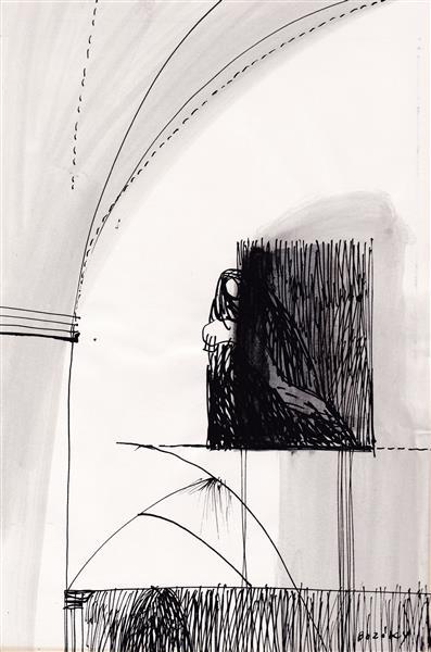 Kolner Serie  # 16, 1972 - Maria Bozoky
